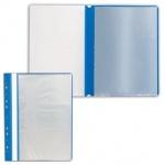 Папка файловая Staff синяя, А4, на 10 файлов