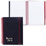 Тетрадь Brauberg Black Jack, А5, 150 листов, в клетку, на спирали, пластик
