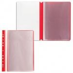 Папка файловая Staff красная, А4, на 10 файлов
