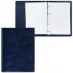 Тетрадь на кольцах Дпс синяя, A5, 90 листов, в клетку, пвх