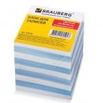 Блок для записей непроклеенный Brauberg 2 цвета, 90х90мм