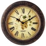 Часы настенные Scarlett SC-WC1002K с рисунком, d=28.5см, круглые