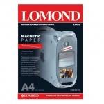 Фотобумага для струйных принтеров Lomond А4, 2 листа, 620 г/м2, матовая, с магн. слоем, 2020346