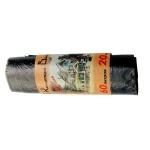 Мешки для мусора Концепция Быта Стандарт 60л, черные, 12мкм, 20шт/уп