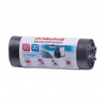 Мешки для мусора Лайма Стандарт 20л, черные, 8мкм, 30шт/уп