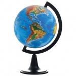 Глобус физический Глобусный Мир 15см, на круглой подставке, 10003