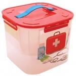 Контейнер для лекарств Idea 7л, пластик, с плотно прилегающей крышкой с дозатором
