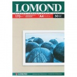 Фотобумага для струйных принтеров Lomond А4, 50 листов, 210 г/м2, глянцевая, односторонняя, 0102142