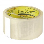 Клейкая лента упаковочная Universal прозрачная, 48мм х 66м, 38мкм
