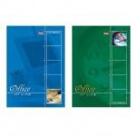 Блокнот Hatber Office Line, А5, 60 листов, в клетку, на спирали, мелованный картон, жесткая подложка