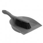 Совок для мусора М-Пластика Идеал 31см, в комплекте с щеткой, М 5171