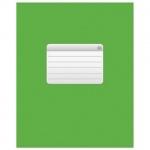Тетрадь общая Hatber зеленая, А5, 48 листов, в клетку, на скрепке, мелованный картон