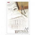 Папка для черчения Hatber Архитектура А4, 190 г/м2, 10 листов, без рамки