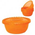 Салатник Idea оранжевый, 3л, 10.5х25см, + 6 салатников по 0.6л