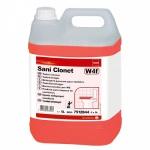 Чистящее средство Taski Sani Clonet 5л, для удаления отложений в унитазах и писсуарах, 7512844