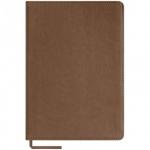 Блокнот Office Space City vintage коричневый, А5, 80 листов, в клетку, на сшивке, искусственная кожа, с ляссе