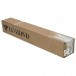 Бумага широкоформатная Lomond 914мм х 45м, 90г/м2, матовая, для САПР и ГИС, (эконом) 1202112