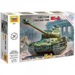 Модель для сборки Звезда Советский тяжелый танк ИС-2, масштаб 1:72