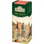 Чай Ahmad Classic black (Классический черный), черный, 25 пакетиков