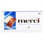 Шоколад Merci молочный, 100г