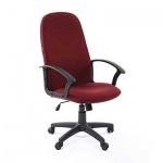 Кресло руководителя Chairman 289 NEW ткань, бордовая, крестовина пластик