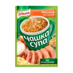 Суп Knorr мясной с лапшой, 3штх14г