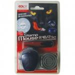 Штамп круглый самонаборный Colop Stamp Mouse 2 круга, d=40мм, R40/2
