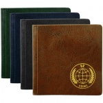 Альбом для монет Office Space на 52 монеты, 8 листов, 105х105мм