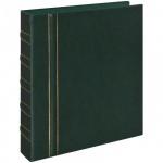 Альбом для монет Office Space Optima-Standard на 325 монет, 10 листов, 230х270мм, искусственная кожа, зеленый