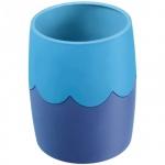 Подставка для ручек Стамм 86х102мм, сине-голубая, СН505