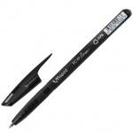 Ручка шариковая Maped Green Ice Fine черная, 0.6мм, корпус тонированный, 224235
