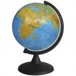 Глобус физический Глобусный Мир 21см, на круглой подставке, 10005