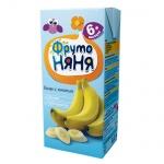 Нектар Фрутоняня банан с мякотью, 200мл