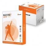 """Бумага для принтера Maestro Spestro А4, 500 листов, 80г/м2, белизна 162%CIE, """"В+"""""""