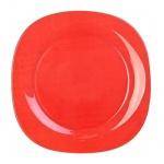 Тарелка десертная Luminarc Colorama красная, d=18см