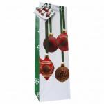Пакет подарочный новогодний 10x9x33см, EUX/140504