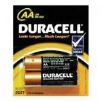 Батарейка Duracell Basic АА/LR06-2BL, 1.5В, 2шт/уп