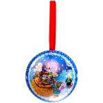 Елочный шар Феникс Презент Шар с новогодним предсказанием внутри 65мм, ассорти, пластик