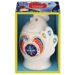 Чай Hilltop Символ Года Петушок Подарок Цейлона, черный, листовой, 50г, в чайнице