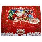 Набор чая Hilltop Ассорти Мастерская подарков, 4 сорта, листовой, 4х50г, ж/б, с ситечком