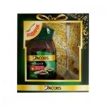 Кофе растворимый Jacobs Monarch 95г, стекло, с ложкой