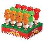 Игрушка с конфетами Конфитрейд Петушок-пищалка драже, на тубе, 2г