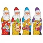 Шоколадная фигурка Сладкая Сказка Дед Мороз 25г, ассорти
