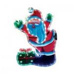 Панно светодиодное B&h Дед Мороз, 84 лампочки, 37х56см
