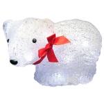 Фигура светодиодная B&h Медведь, 16 ламп, акриловая, 14см