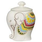 Чай Hilltop Слон Подарок Цейлона, черный, листовой, 50г, в чайнице