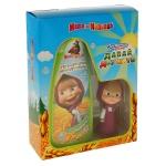 Подарочный набор Маша И Медведь Давай дружить Печенька, средство для купания, флакон-фигурка