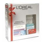 Подарочный набор L'oreal Максимальное увлажнение 24ч, крем для лица, мицеллярная вода