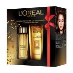 Подарочный набор L'oreal Роскошь питания, масло для лица и волос