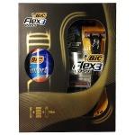 Подарочный набор Bic Flex 3 Easy, бритва, гель для бритья